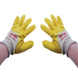 Handschoen geel nitril