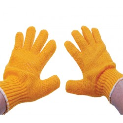 Werkhandschoen handschoenen gebreid