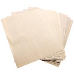 Schuurpapier vellen set a 10 stuks korrel 60 80 100 150 240