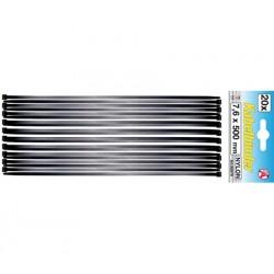 T-rap Kabelbinder 7.6x500 mm 20-delig zwart