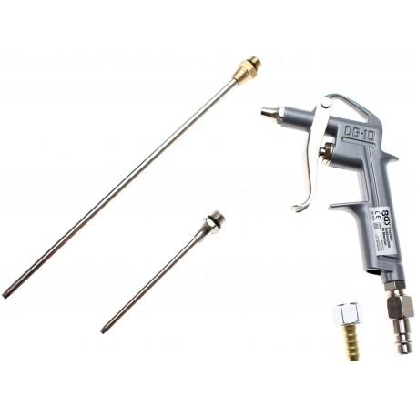 Luchtpistool Aluminium met 3 nozzles