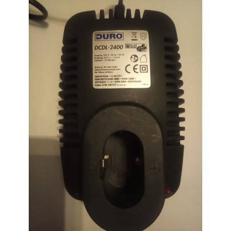 400529 DCDL-2400 Fast charger 24V 2.5A 85W 120m