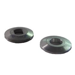 105066 Flange set 1x round hole 1x oval hole MSM1031