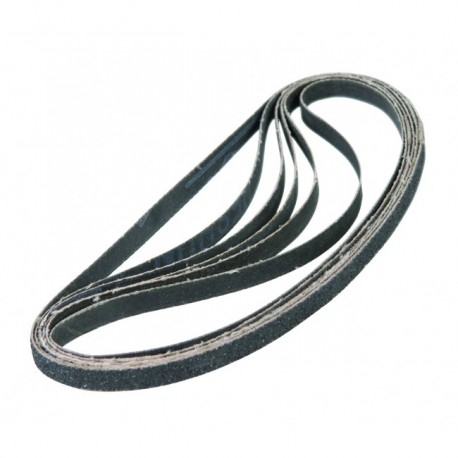 EFA1004 Schuurbandenset 13mm 8 st. K40, K80, K120 voor EFM1001